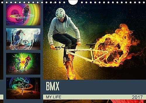 Preisvergleich Produktbild BMX My Life (Wandkalender 2017 DIN A4 quer): Einmalig fantastische BMX Bilderwelten (Monatskalender, 14 Seiten ) (CALVENDO Sport)