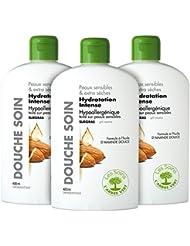 L'arbre vert Gel Douche Soin Hydratation Intense Surgras 400 ml - Lot de 3