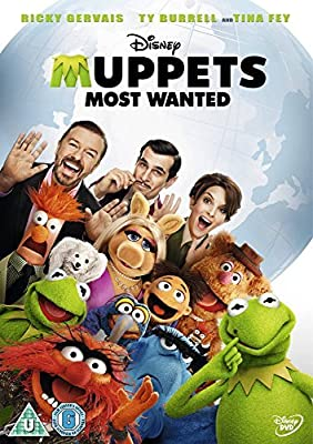 Muppets Most Wanted *Ricky Gervais* [REGION 2 FORMATTED PAL VERSION DVD]