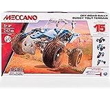 New Meccano MEC6028580 ATV Off Road Buggy 15 in 1 PZ.242 MODELLINO Die CAST Model