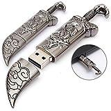 Microware USB 3.0 16GB Sword Dagger Kinfe Shaped Pen Drive Flash Drive USB Flash Memory Stick