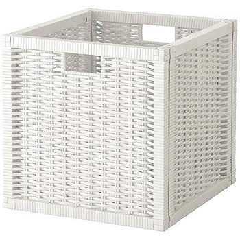 ikea kallax einsatz mit t r in wei 33x33cm k che haushalt. Black Bedroom Furniture Sets. Home Design Ideas