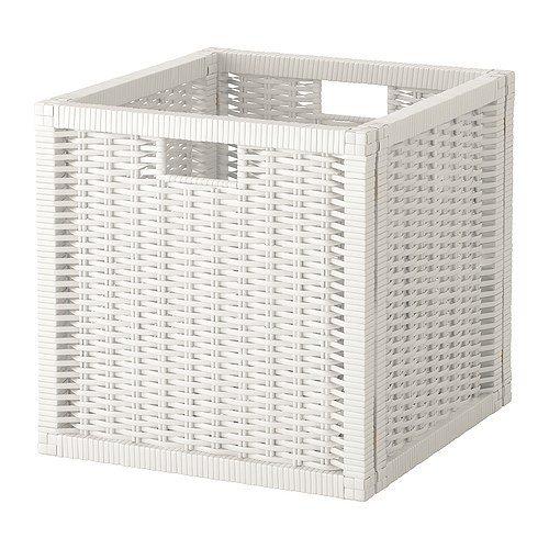 IKEA BRANÄS Korb in weiß; passend für EXPEDIT und KALLAX Regal -