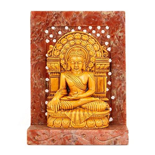 CraftVatika escultura de piedra Sakyamuni Buda Estatua/Figura/religioso Idol–interior