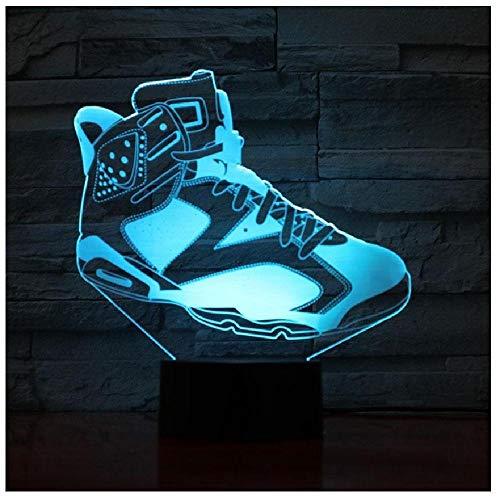 Led Nachtlicht Figur Decor Usb Touch Sensor Kinder Kinder Geschenk Sport Schlafzimmer Tischlampe Basketball Schuhe