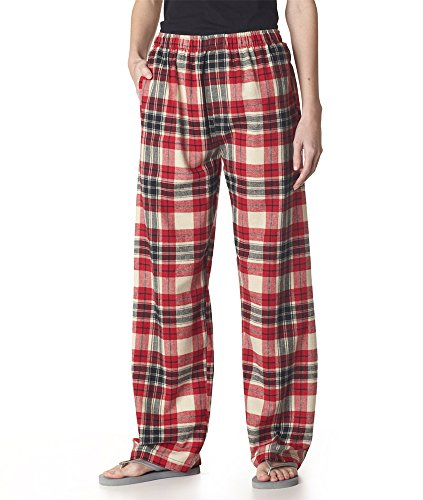 Boxercraft Adult Classic Flannel Boxers Red/Blue