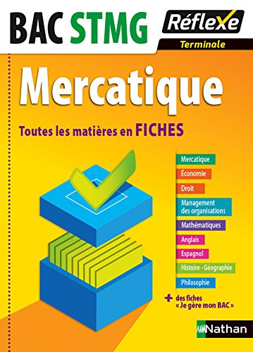 Toutes les matières en FICHES Terminale STMG - Mercatique par Nancy Baranes