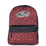 Vans Realm Backpack Zaini Donne Nero/Rosso - Unica - Zaini