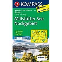 Millstätter See, Nockgebiet: Wanderkarte mit Aktiv Guide, Radrouten, alpinen Skirouten und Panorama. GPS-genau. 1:50000 (KOMPASS-Wanderkarten, Band 63)