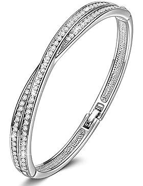 LADY COLOUR - Kreuz - Armband Damen mit Kristallen von SWAROVSKI® - PARIS VOGUE Kollektion