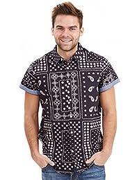 Joe Browns Men's Road to Anywhere Regular Fit Short Sleeve Casual Shirt
