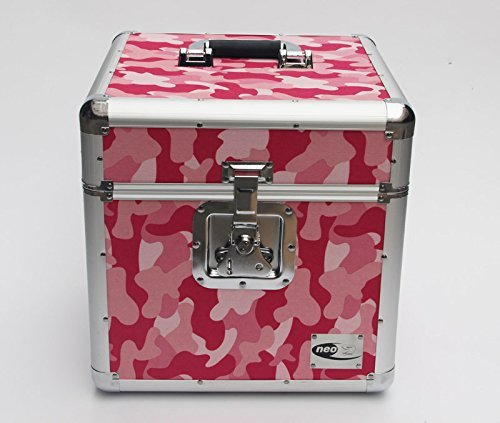 12 Quot Lp Vinyl Record Storage Box Flight Carry Case Holds