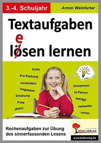 Download Textaufgaben l(ö)esen lernen: Rechenaufgaben zur Übung des sinnerfassenden Lesens