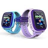 MiniInTheBox Ips lbs Wasserdichte Kinder Smart Watch NON-GPS Schwimmen SOS Tracker Sicher Verloren Anti-Monitor Rufen (Blue)
