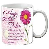 Best Mom Coffee Cups - meSleep Ceramic Wonderful Mom Happy Birthday Mug Review