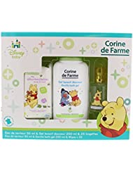 Corine de Farme Coffret Winnie l'Ourson Lingettes + Gel Lavant + Eau de Senteur Disney Baby 50 ml