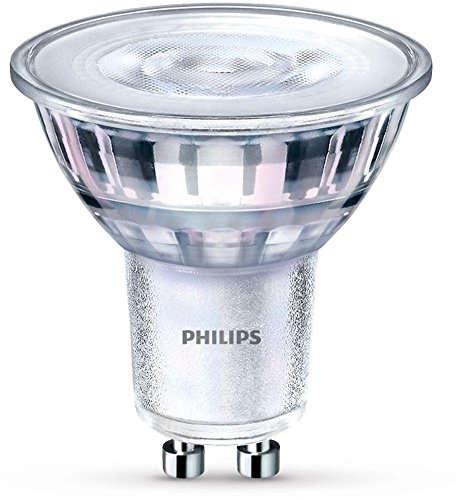 Philips LED WarmGlow Lampe ersetzt 50 W, GU10, warmweiß (2200-2700K), 345 Lumen, Reflektor, dimmbar