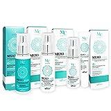 Belita-Vitex MEZOcomplex Anti-Aging Hautpflege-Set 40+, 150ml - Tages- und Nachtcreme je 50ml, Serum 20ml, Augencreme 30ml
