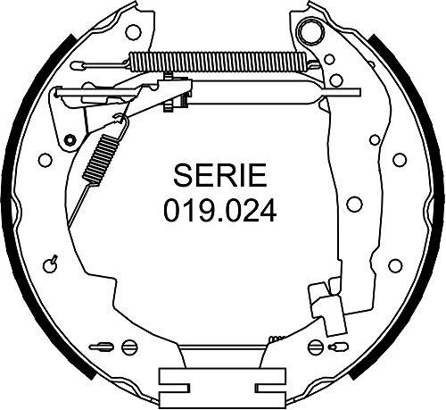 METELLI 51-0098 RAPIDKIT, Kit Composto da 2 Pezzi di Ganasce Freno Premonatate, MADE IN ITALY, Pezzo di Ricambio per Auto/Automobile, Montaggio Facile, Veloce e Sicuro