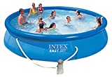 Intex 28162 Easy Set Pool mit Filterpumpe Kartuschenfilter 3.785 l/h, 457 x 91 cm