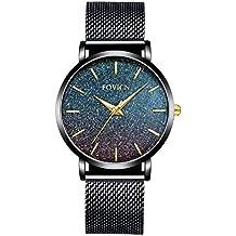 9aa12a5e3f97 reloj negros de mujer - Amazon.es