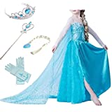 Die besten Kostüme für Frauen - Timesun® Mädchen Prinzessin Schneeflocke Süßer Ausschnitt Kleid Kostüme Bewertungen
