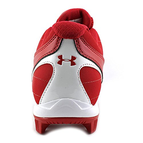 Under Armour Leadoff III Low Synthetik Klampen Red/Wht