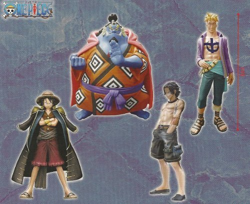 One Piece High Spec Coloring Figure 7 all four sets (japan import)