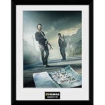 """GB eye fotografía enmarcada """"The Walking Dead temporada, 12,7 cm, varios colores, 16 x 30,5 cm"""