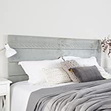 nordic tte de lit 180 bois 192x4x101 cm couleur gris perla - Tete De Lit En Bois