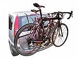 Vetrineinrete® Portabici posteriore per auto 2 posti biciclette universale peso massimo 30 kg portabicicletta supporto per trasporto bici P9