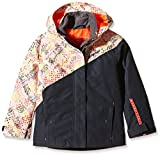 Ziener Kinder Jacke Amsel Jun Jacket Ski, Dark Shadow Splash, 128, 157901
