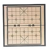Fenteer Traditionelles Chinesisches Schach Spiel für Erwachsene Oder Kinder, Magnetisches Faltbares Brettspiel - 20cm