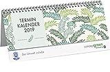 Concept green Palmwedel grün Wochenquerplaner - Kalender 2019