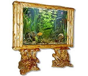 aquarium trennwand big floor 160 xxl natur holz standaquarium haustier. Black Bedroom Furniture Sets. Home Design Ideas