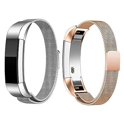 Fitbit alta/alta HR Inoxydable Bracelet Replacement strap bracelet connecté fitbit