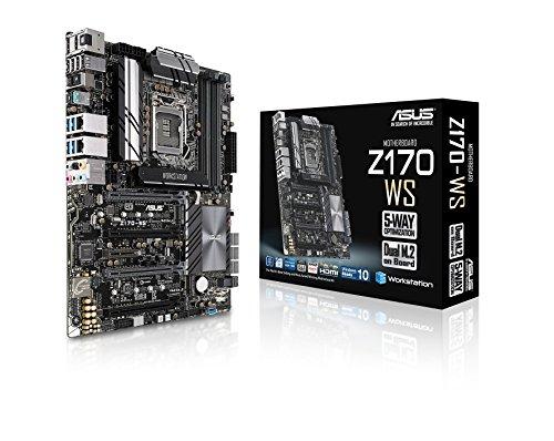 Intel Extreme Graphics (Asus Z170-WS Mainboard Sockel 1151 (ATX, Intel Z170, 4x DIMM, 6x SATA 6Gb/s, M.2 Schnittstelle, U.2 Connector))