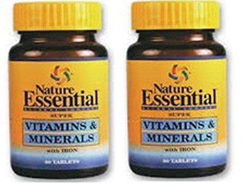 VITAMINE & MINERALIEN 600 MG. 60 Tabletten (Pack 2 u.)