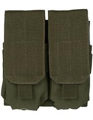 Mil-Tec Doble M4 / M16 Cargador Bolsa MOLLE oliva