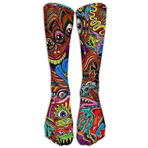 or Monster Unisex Comfortable Stocking Socks Athletic Sock ()