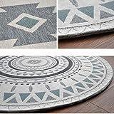 DT Teppich Runde Geometrische Muster 90 * 90 cm 120 * 120 cm 160 * 160 cm Studie Durable,160 * 160 cm,1