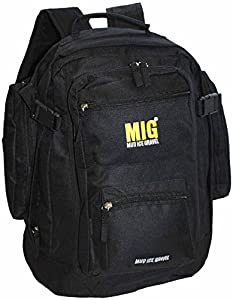 Mens Classic Backpack Rucksack Bag By MIG - MUD ICE GRAVEL