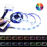 LED Strip Surenhap TV Backlight USB LED Streifen IP65 Wasserdicht Fernbedienung für TV Aquarium usw.