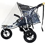 Universal Baby Trend Jogging Buggy Raincover Professional Heavy Duty Rain Cover