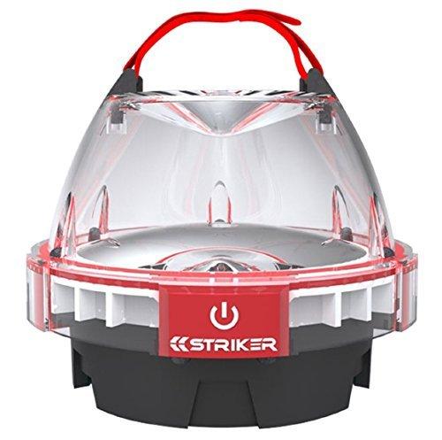 Striker Hand Tools 00245 Mini Waterproof Lantern - Red/Black by Striker Hand Tools -