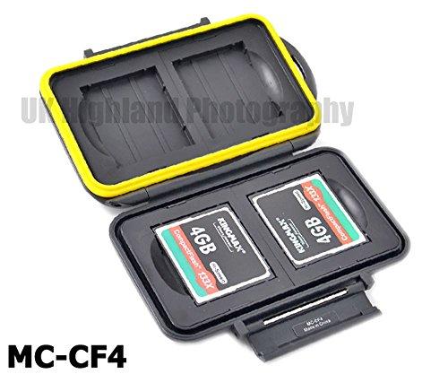 Kaavie - multi custodia contenitore impermeabile in plastica rigida per schede: CompactFlash x 4 - Multi Card Case Safe
