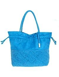 Comma Femmes Cabas Tote bag bleu clair 83-302-94-5733-LBL