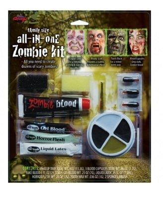 Familie Horror Zombie Makeup Kit