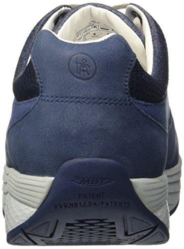 MBT Said, chaussures basses Homme Bleu (Denim Blue/White)
