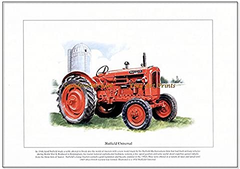 Nuffield Universal Tracteur